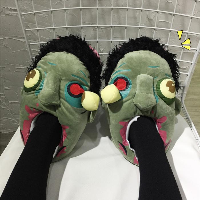รองเท้าใส่ในบ้าน ลายซอมบี้