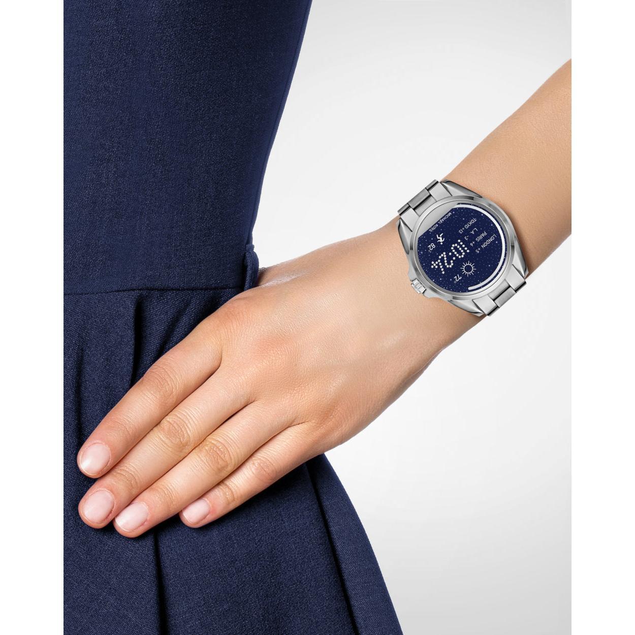 bbd9b55f04d2 Michael Kors Access Touchscreen Stainless Steel Bradshaw Smartwatch ...