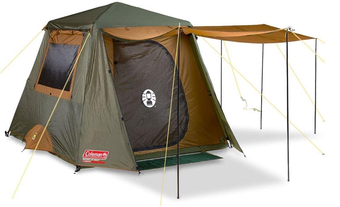 Coleman Tent Instant Up Au version 4P Gold