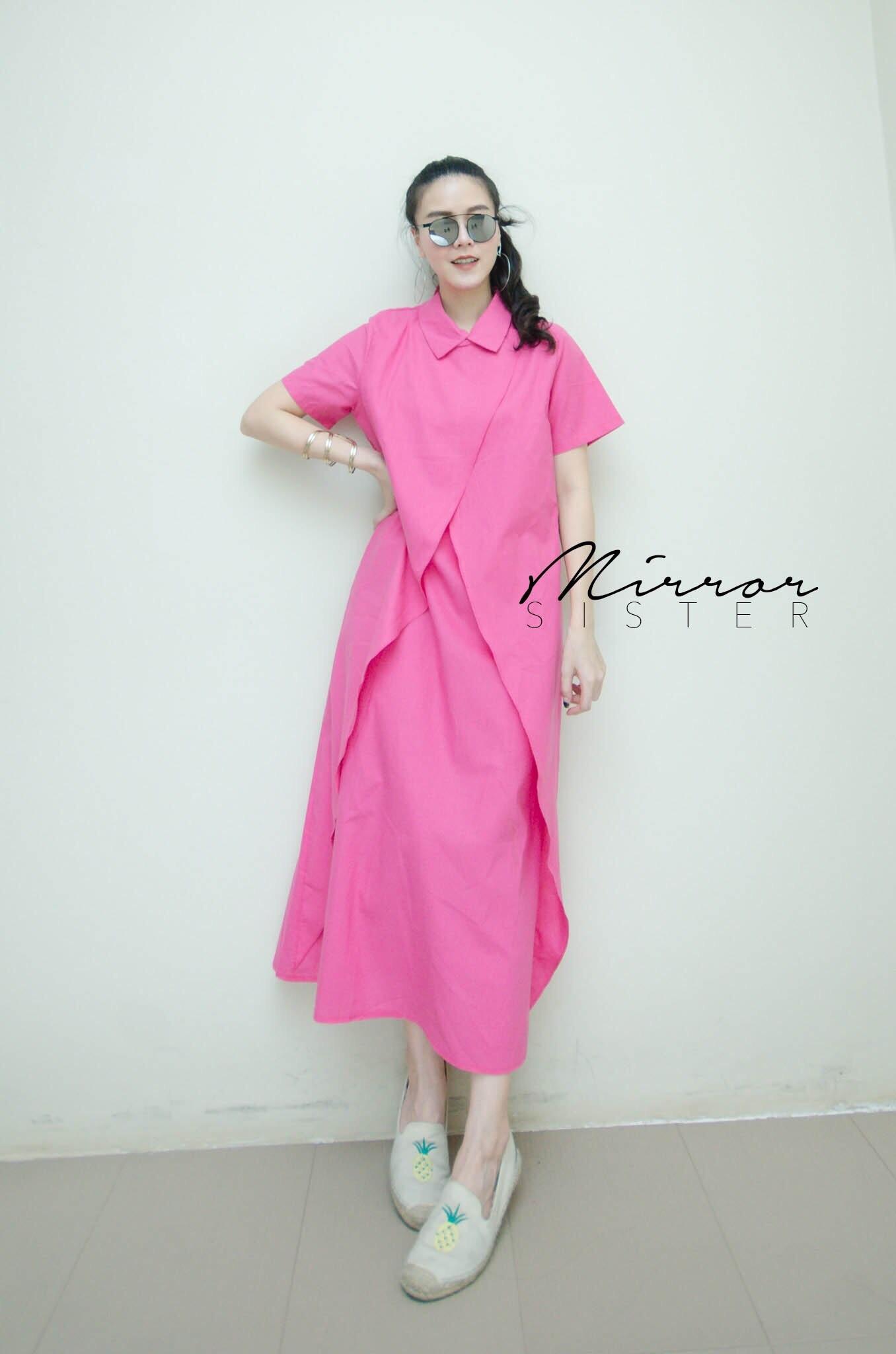 ชุดเดรสแฟชั่น Megan LayeR maxi dress