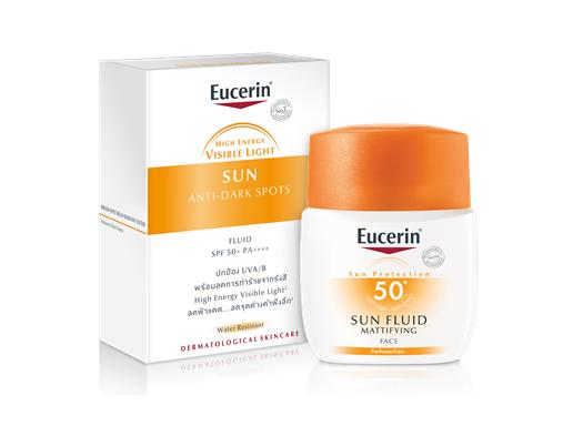 Eucerin SUN FLUID MATTIFYING FACE SPF50+ 50ml.