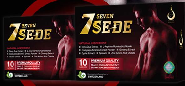 Seven Sede (เซเว่น เซเด) อาหารเสริมบำรุงสำหรับผู้ชาย