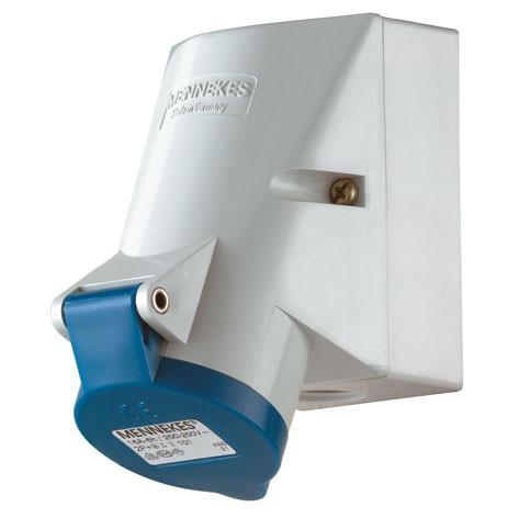 ปลั๊กตัวเมียติดผนัง IP44 32Amp ขั้ว 2+E 230V