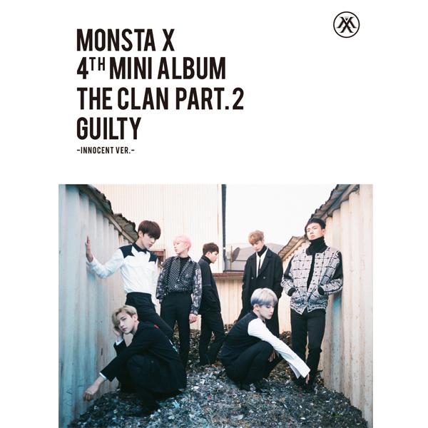 MONSTA X - Mini Album Vol.4 [THE CLAN 2.5 PART.2 GUILTY] INNOCENT Ver.