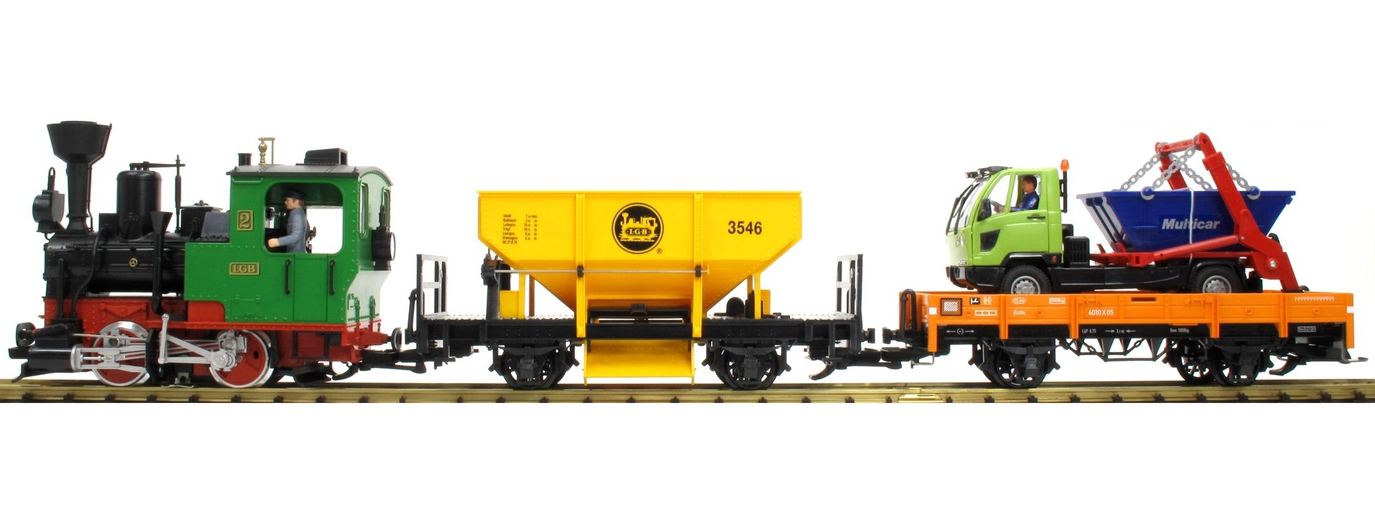 LGB70403 Work train starter set