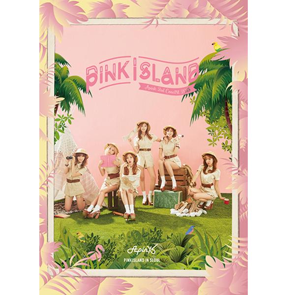 Apink - Apink 2ND CONCERT LIVE DVD [PINK ISLAND]
