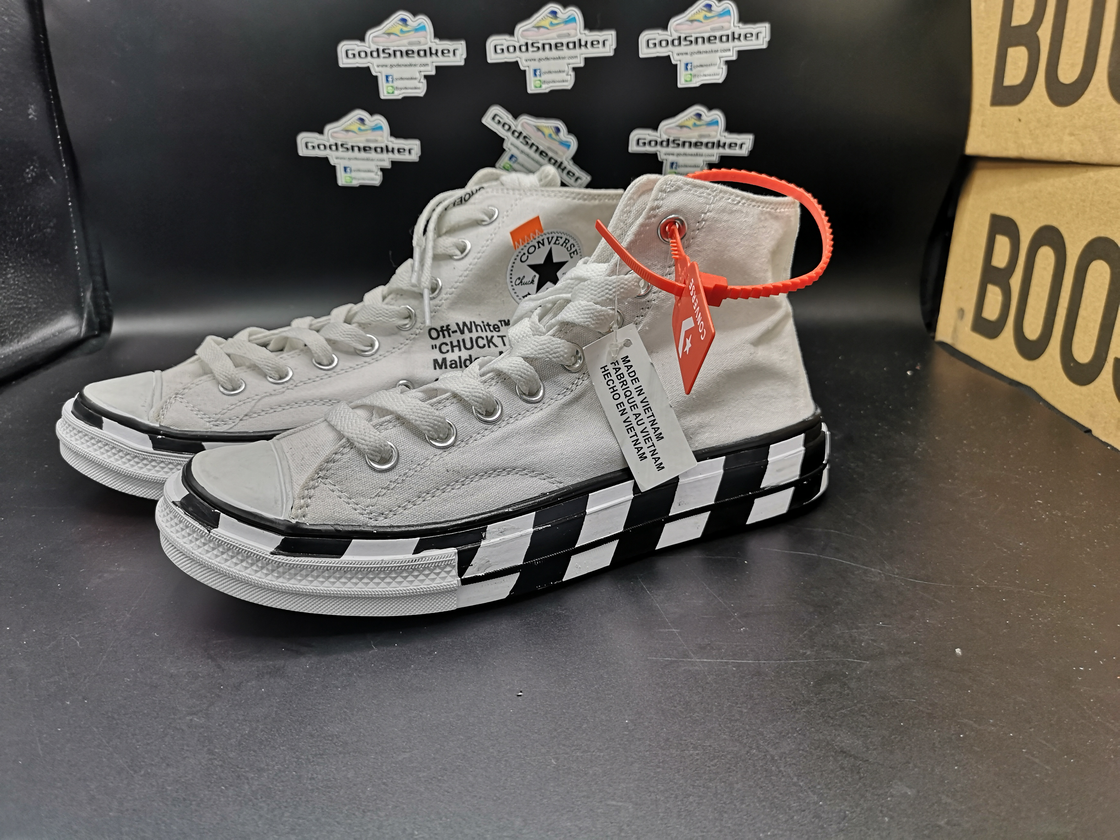 oben Converse Chuck Taylor All Star 70s Hi Off White Size 40 45  spare mehr
