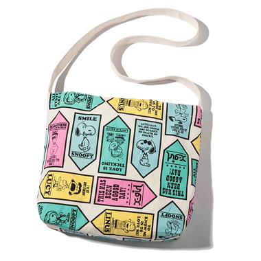 กระเป๋าสะพาย Snoopy Peanuts จากนิตยสาร X-Girl