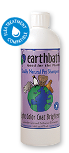 Earthbath LIGHT COLOR COAT BRIGHTENER (Whitening) สูตรสำหรับขนสีขาว
