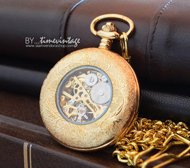 นาฬิกาที่ระลึกพรีเมียมระบบกลไกไขลาน