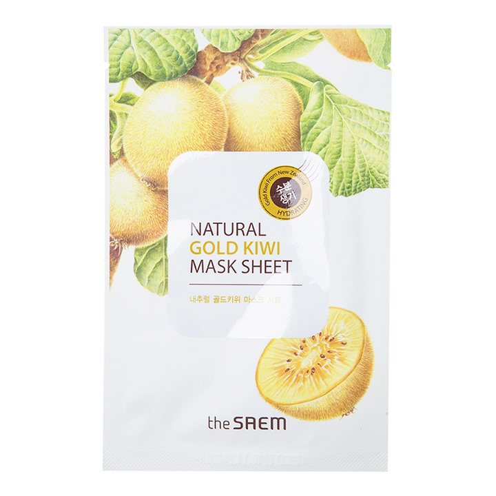 The Saem Natural gold kiwi Mask Sheet สำเนา