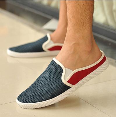 รองเท้าแฟชั่นผู้ชายเปิดส้นเท้า