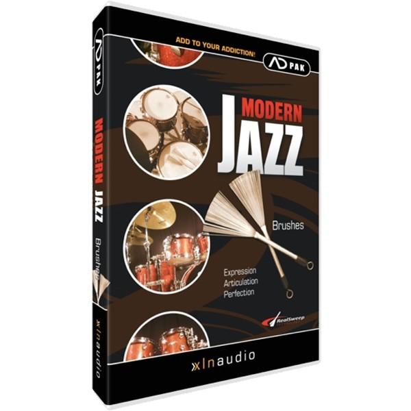 XLN Audio Addictive Drums ADPAK MODERN JAZZ BRUSHES