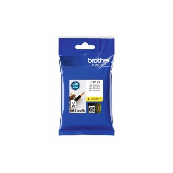 BROTHER INK CARTRIDGE LC-3617Y สีเหลือง