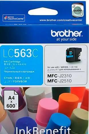 BROTHER INK CARTRIDGE LC-563C สีฟ้า
