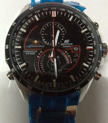 casio edifice redbull EQS-A500DB-1AV