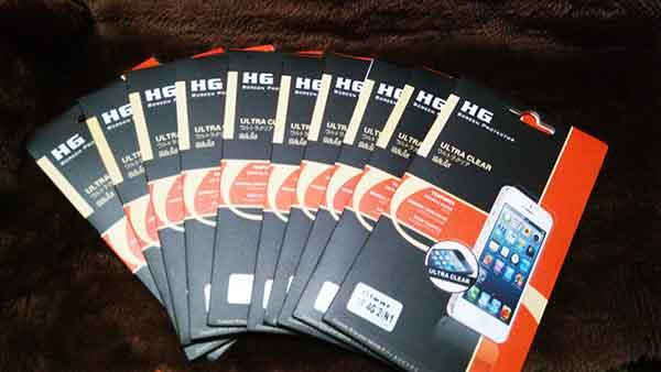 ฟิลม์ใส Flim Clear iphone4/4s iphone 5/5s Samsung s3/ s4/ Grand 1/ Grand 2/ Note 2/ Note 3/ Win