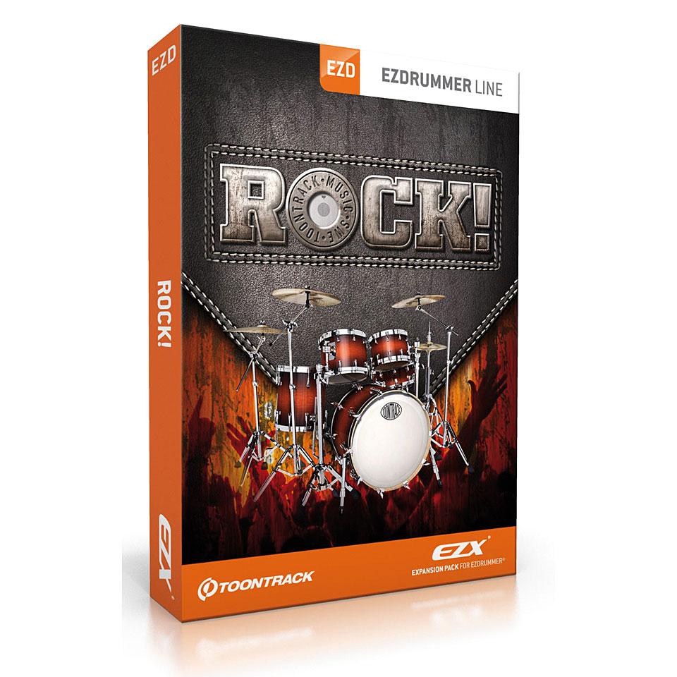 Toontrack EZdrummer EZX Rock!