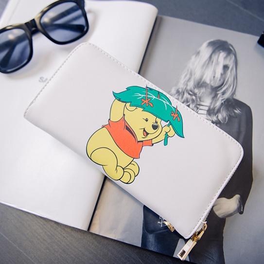 [Preorder] กระเป๋าสตางค์แบบยาว หมีพูลล์ (Kitty kitty change bag holding wild card Wallet)