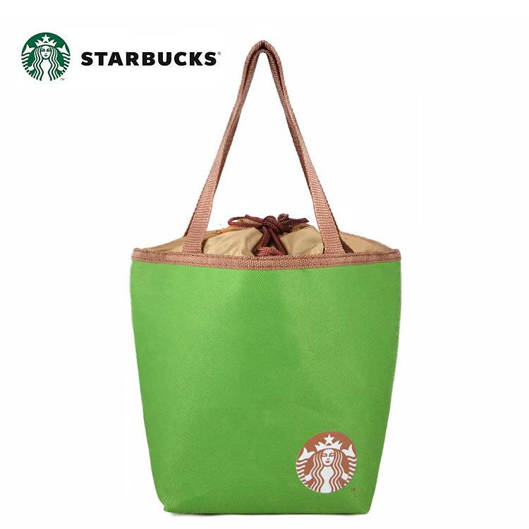 พร้อมส่งค่ะ 2015 Starbucks drawstring ice pack cooler