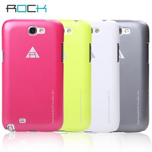 Case Samsung Galaxy Note II (N7100) - เคส Rock แท้ Hard case สีสดใส ทนทาน ลดแรงกระแทกได้เป็นอย่างดี ใส่ง่ายไม่ขูดกับตัวเครื่อง