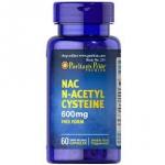 Puritan s Pride N-Acetyl Cysteine (NAC) 600 mg / 60 Capsules