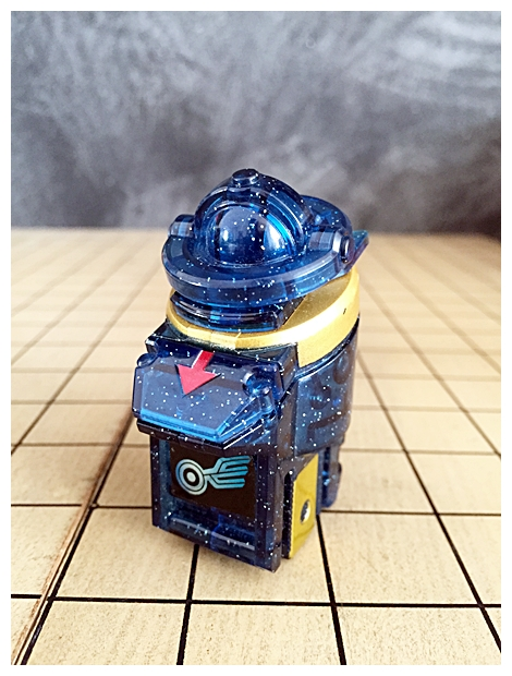 Kamen Rider Fourze Candy Astro Switches 7 [Meteor Switch]