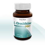 Vistra L-Ornithine 500 mg 30 แคปซูล