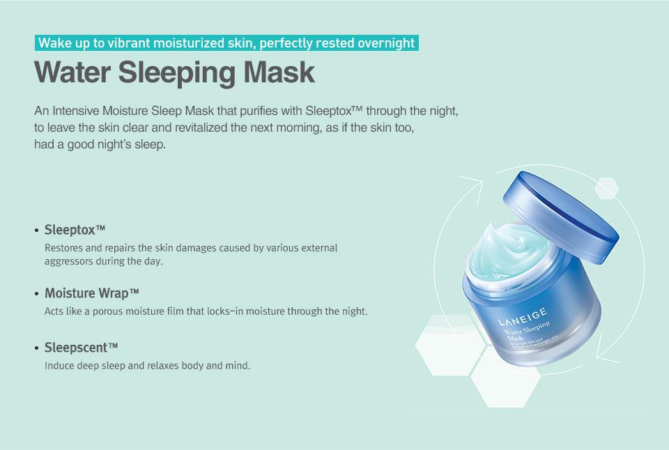 ผลการค้นหารูปภาพสำหรับ Laneige Water Sleeping Mask