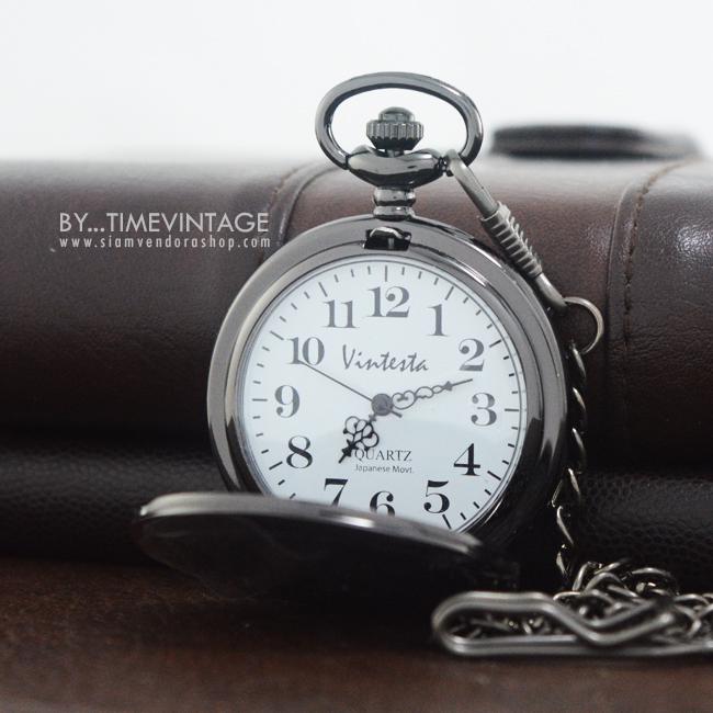 นาฬิกาพกวินเทจ