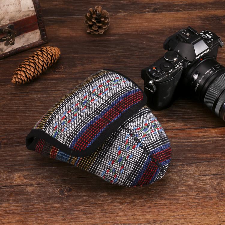 กระเป๋ากล้องmirrorlessสามเหลี่ยม