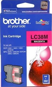 BROTHER INK CARTRIDGE LC-38M สีแดง