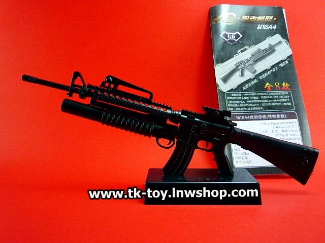 โมเดลอาวุธปืน M16A4 [1:6]