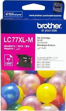 BROTHER INK CARTRIDGE LC-77XLM สีแดง