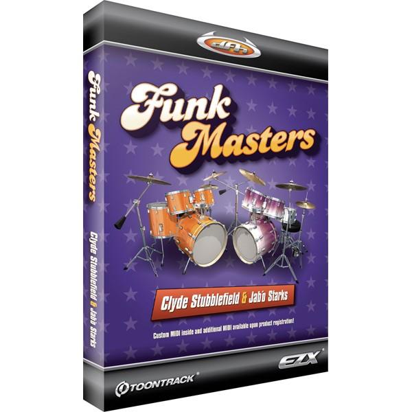 Toontrack EZdrummer EZX Funk Masters