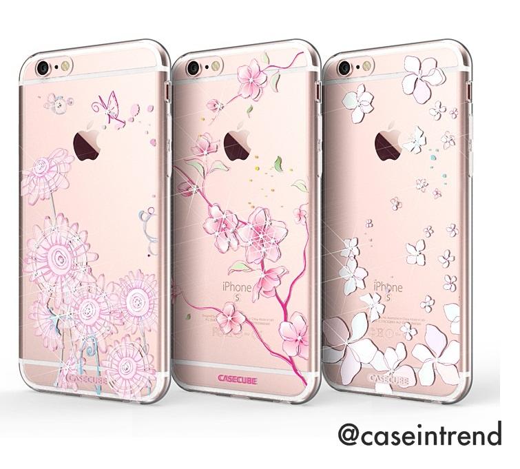 เคส iPhone 6/6s Case Cube Flower
