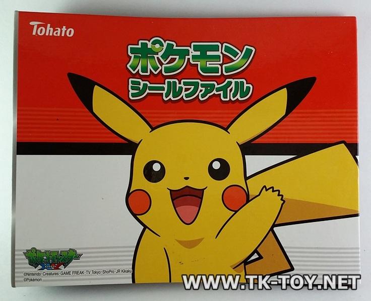 แฟ้มเก็บเหรียญโปเกมอน [Tohato Pokemon Tretta Binder]