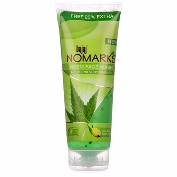 Bajaj Nomarks Neem Face Wash Review