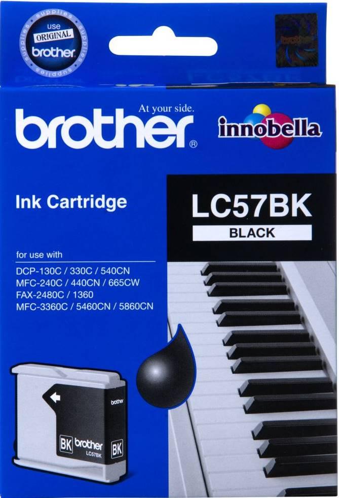 BROTHER INK CARTRIDGE LC-57BK สีดำ