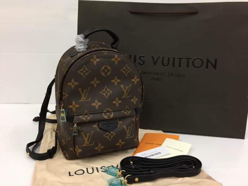 กระเป๋าแบรนด์Louis vuitton palmsprings backpack mini งานHiend