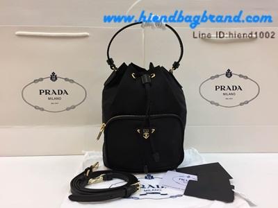 กระเป๋าแบรนด์ Prada nylon bag ทรงขนมจีบ