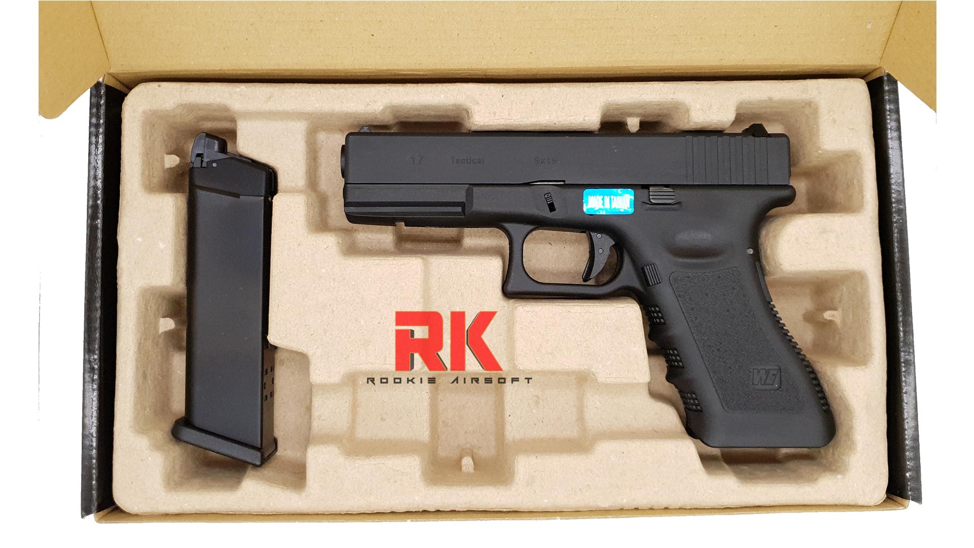 WE Glock17 Gen3 Semi