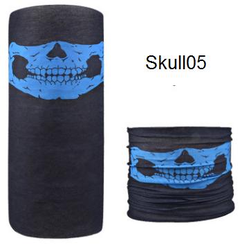 ผ้าบัฟกะโหลก Skull05