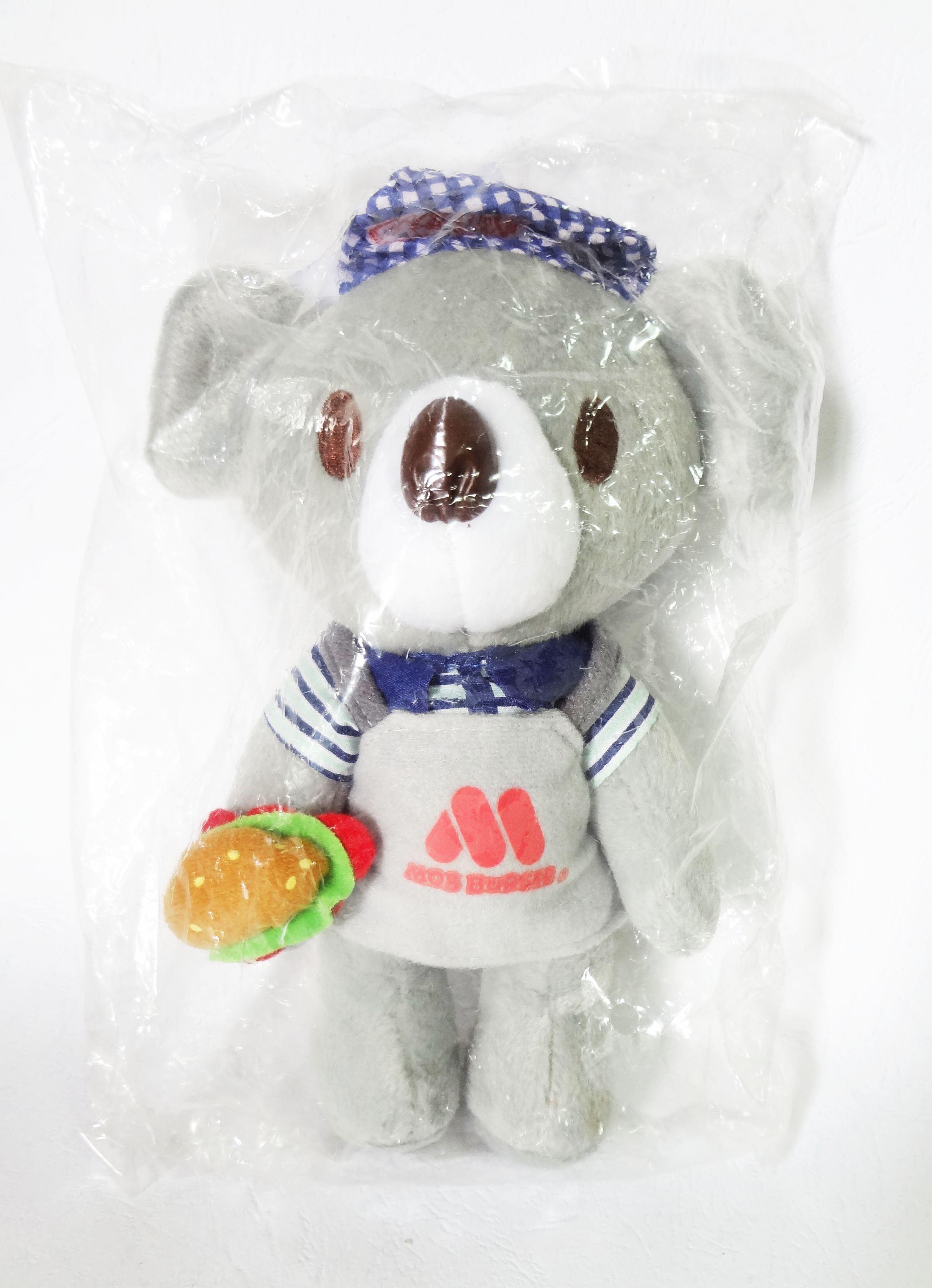 ตุ๊กตาหมี Coca-Cola x MOS Burger Bear