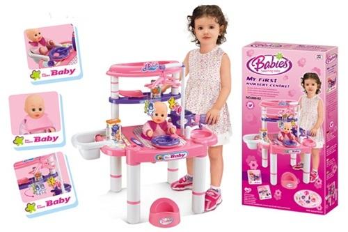 โต๊ะหัดเลี้ยงน้อง ของเล่นเด็ก