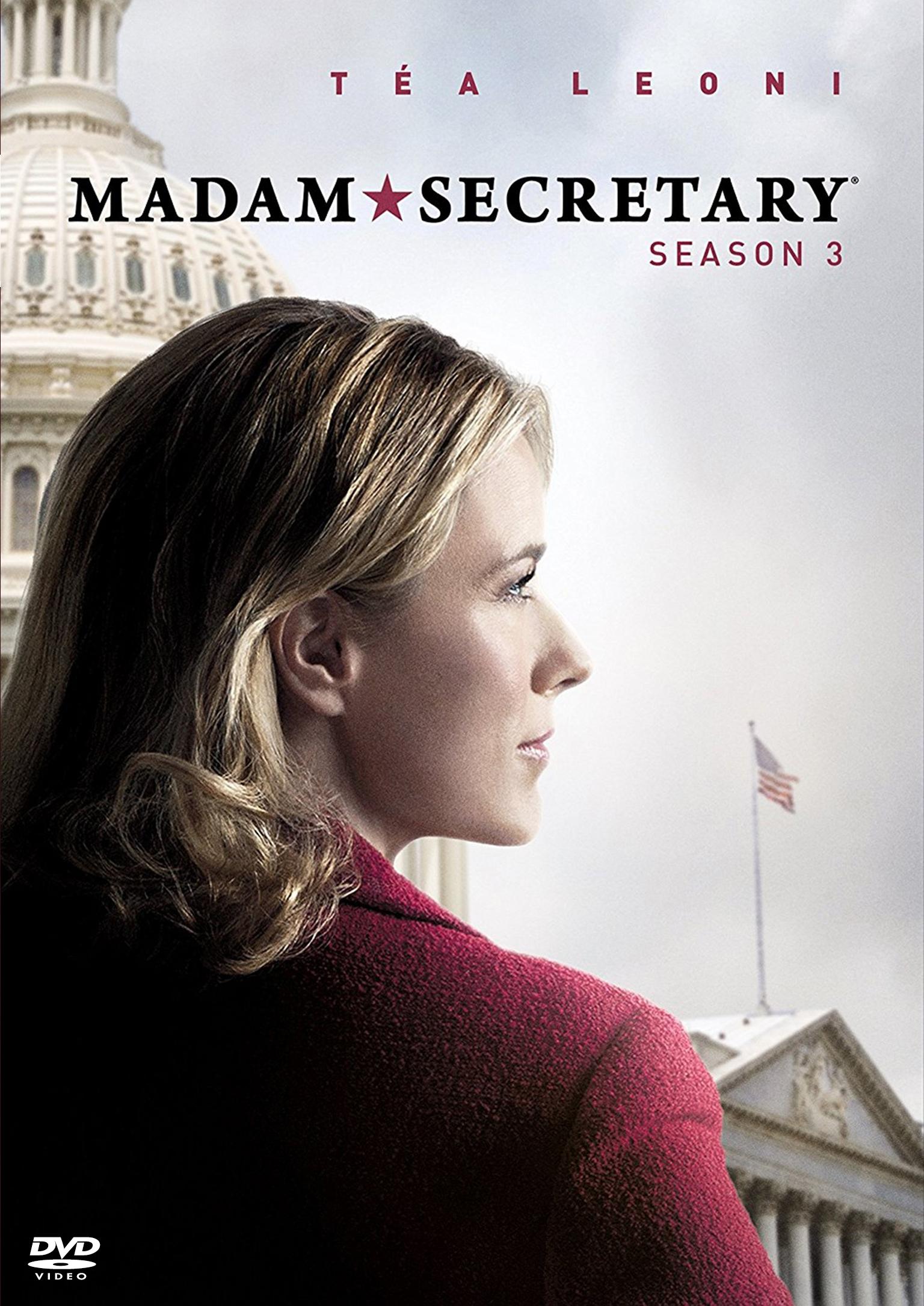 Madam Secretary Season 3 / ยอดหญิงแกร่งแห่งทำเนียบขาว ปี 3 (พากย์ไทย 4 แผ่นจบ+แถมปกฟรี)