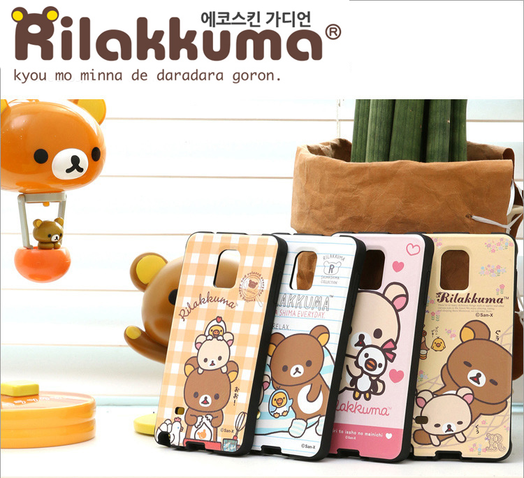 Ecoskin Rilakkuma Case Cover For Samsung Galaxy S6
