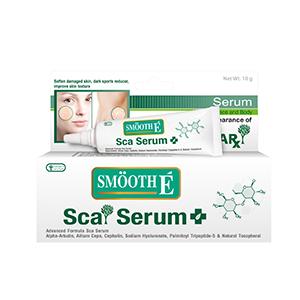 Smooth E Sca Serum Face and Body 10 gm (ทาแผลเป็น)