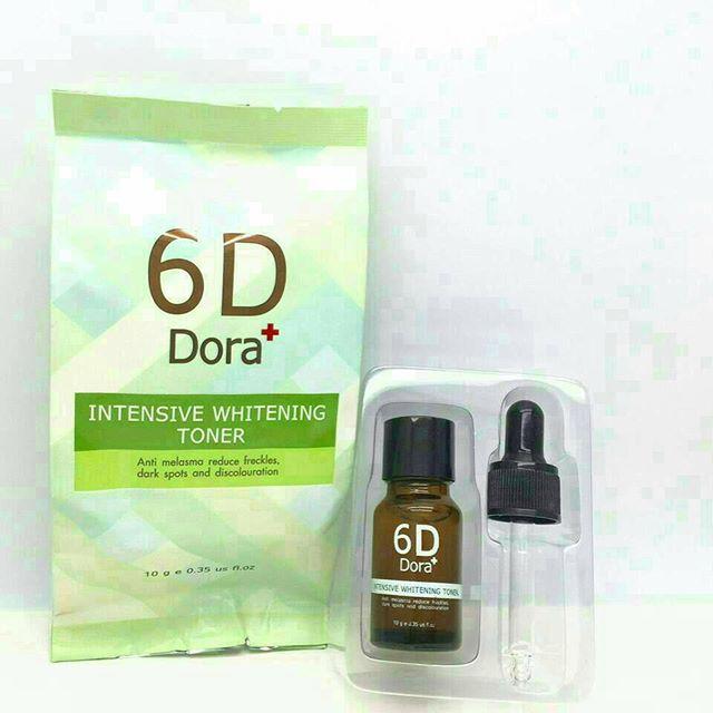 6D Dora+ Intensive Whitening Toner 10 ml. โทนเนอร์ สลายฝ้า กระ