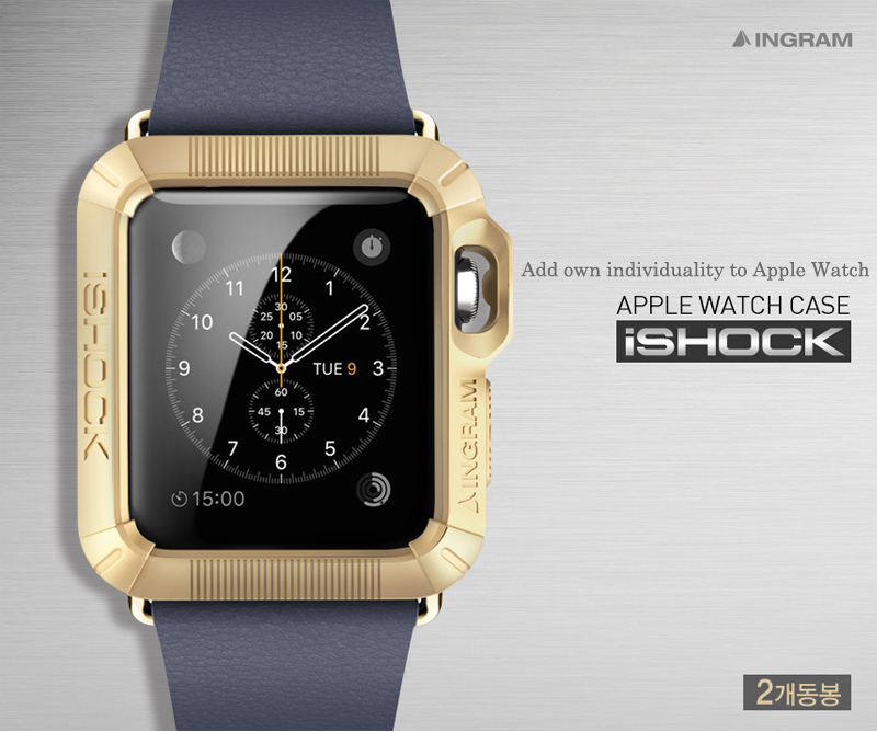 Ingram : iSHOCK Protective Cover For Apple Watch (38mm) & (42mm)